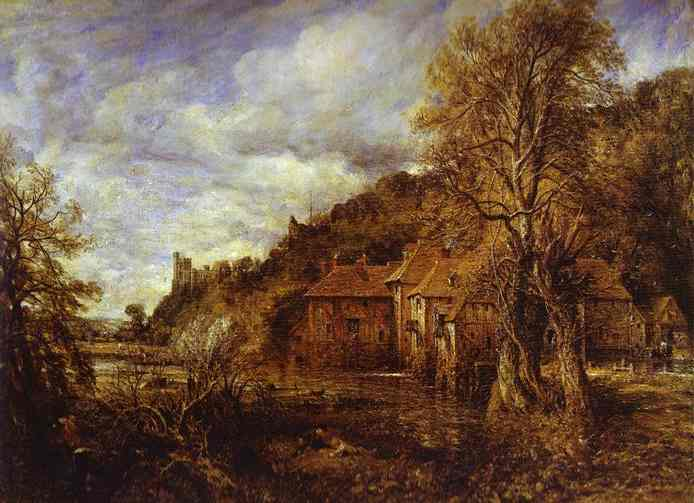 Arundel Mill And Castle 1837 | John Constable | Oil Painting
