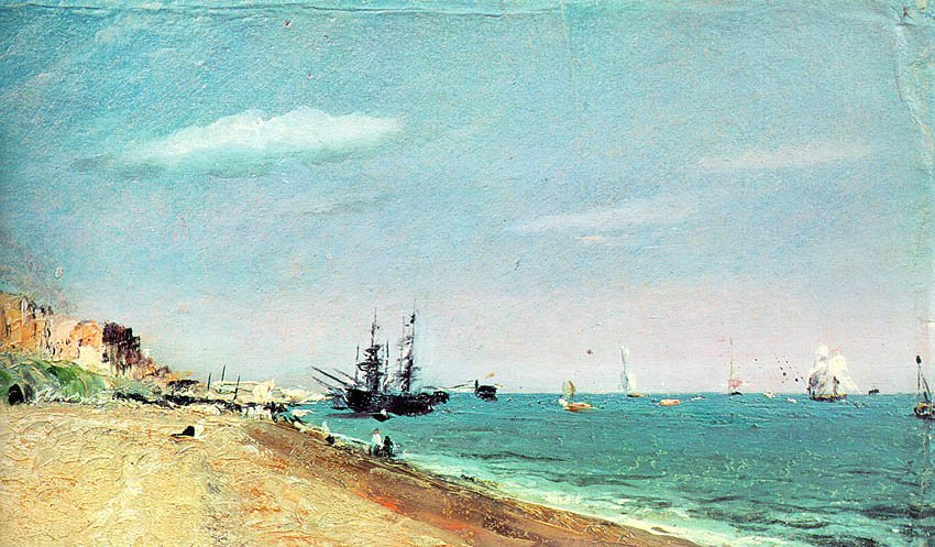Brighton Beach With Colliers 1824 | John Constable | Oil Painting