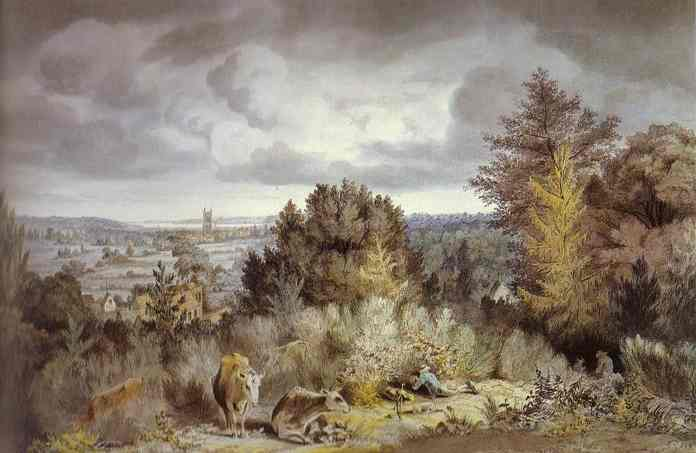 Dedham Hurch And Vale 1800 | John Constable | Oil Painting