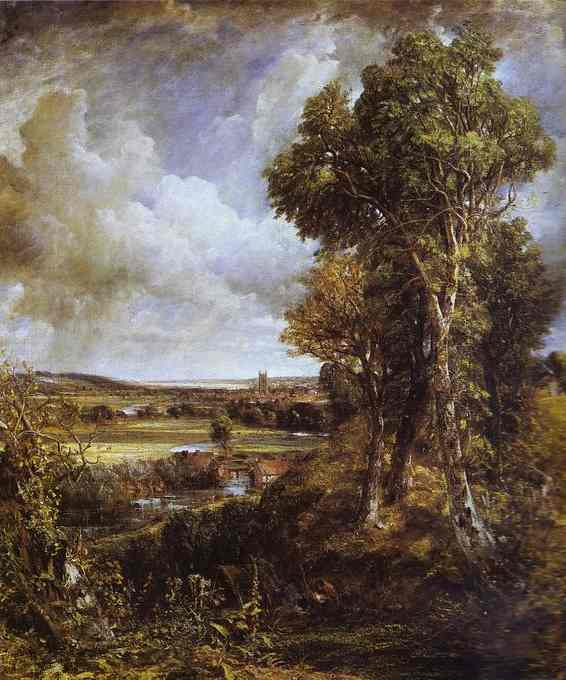 Dedham Vale 1828 | John Constable | Oil Painting