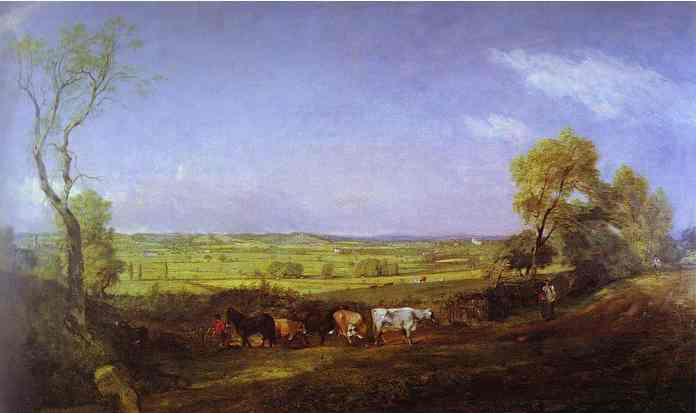 Dedham Vale Morning 1811 | John Constable | Oil Painting