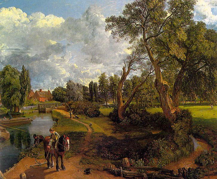 Flatford Mill 1817 | John Constable | Oil Painting