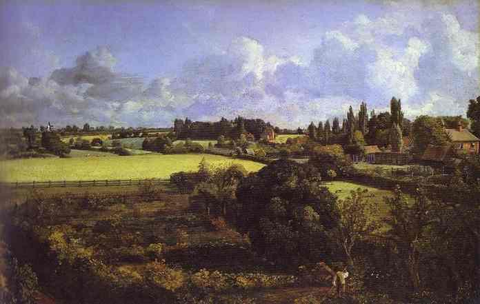 Golding Constables Kitchen Garden 1815   John Constable   Oil Painting