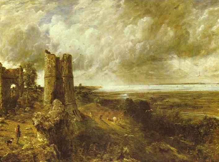 Hadleigh Castle 1829 | John Constable | Oil Painting