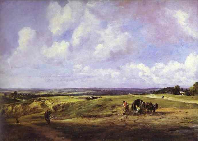 Hampstead Heath 1820 | John Constable | Oil Painting