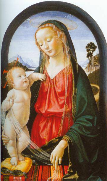 The Virgin And Child 1480-90 | Domenico Ghirlandaio | Oil Painting