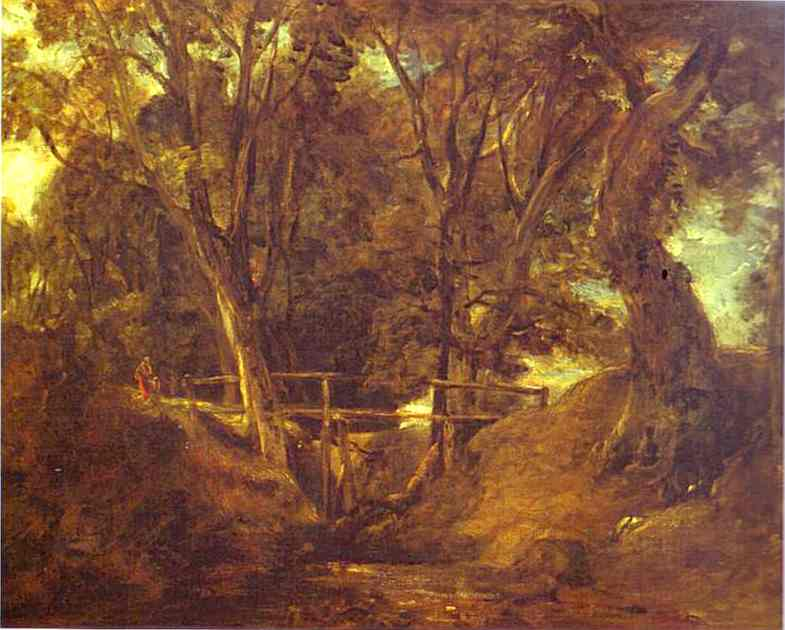 Helmingham Dell | John Constable | Oil Painting