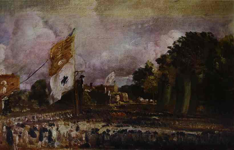 Holiday Of Waterloo In East Bergholt | John Constable | Oil Painting