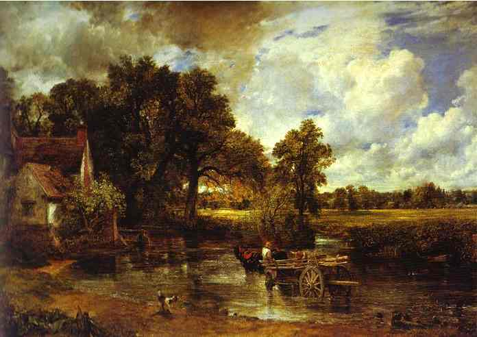 Landscape Noon (The Hay-Wain) 1821 | John Constable | Oil Painting