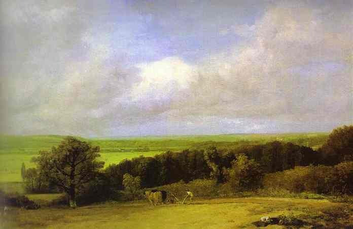 Landscape Ploughing Scene In Suffolk (A Summerland) 1814 | John Constable | Oil Painting