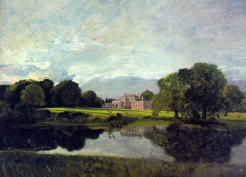 Malvern Hall 1809 | John Constable | Oil Painting