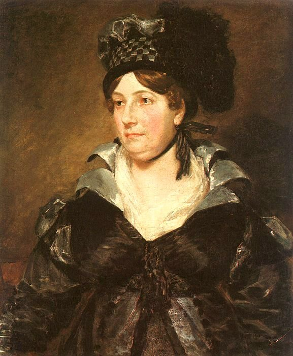 Mrs James Pulham Sr (Frances Amys) 1818 | John Constable | Oil Painting