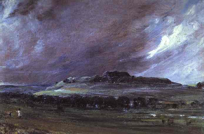 Old Sarum 1829 | John Constable | Oil Painting
