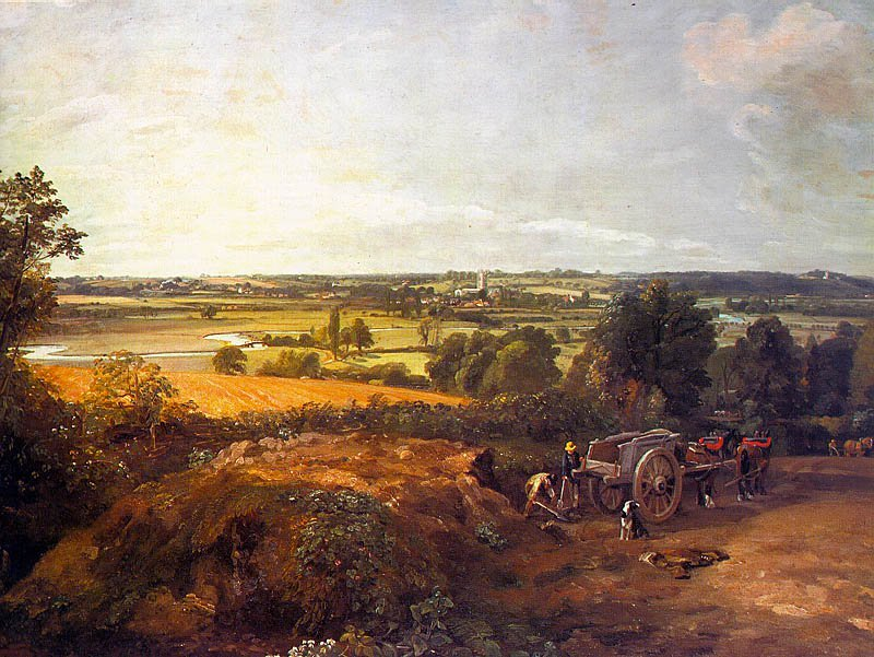 Stour Valley And Dedham Village 1814 | John Constable | Oil Painting