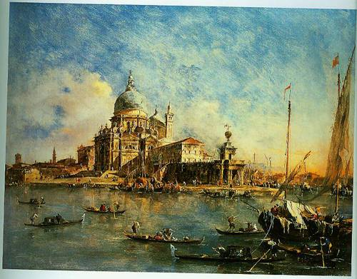 Venice The Punta Della Dogana With S Maria Della Salute 1770 | Francesco Guardi | Oil Painting
