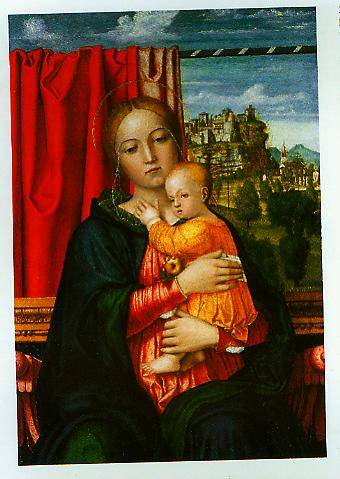 The Virgin And Chils 1505-1510 | Francesco Morone | Oil Painting