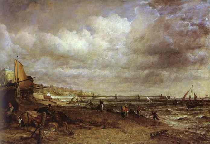 The Hain Pier Brighton 1827 | John Constable | Oil Painting