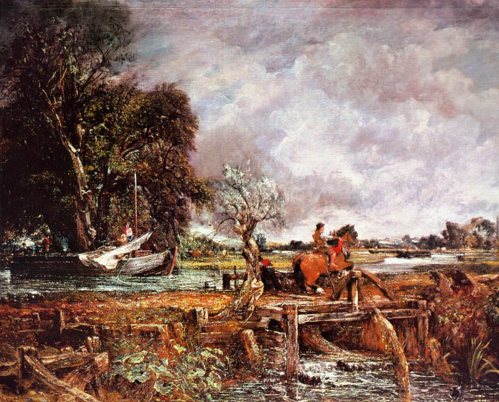 The Leaping  Horse 1825 | John Constable | Oil Painting