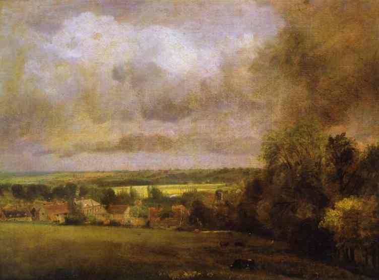 The Stour Valley From Higham 1804 | John Constable | Oil Painting