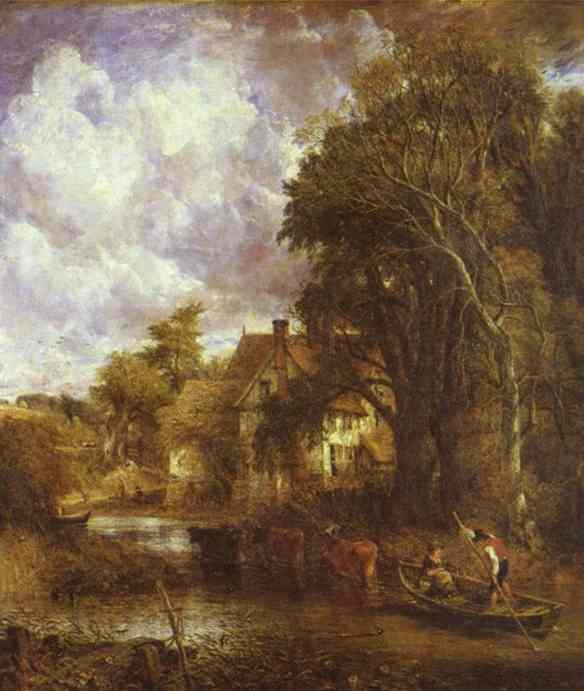 The Valley Farm 1835 | John Constable | Oil Painting