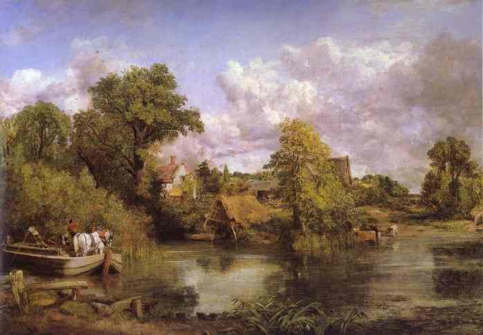 The White Horse 1819 | John Constable | Oil Painting