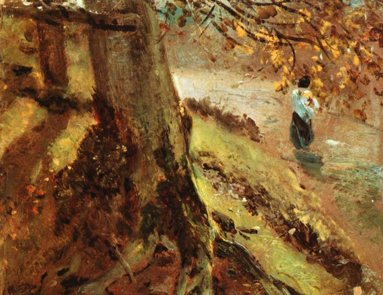 Tree Trunks | John Constable | Oil Painting