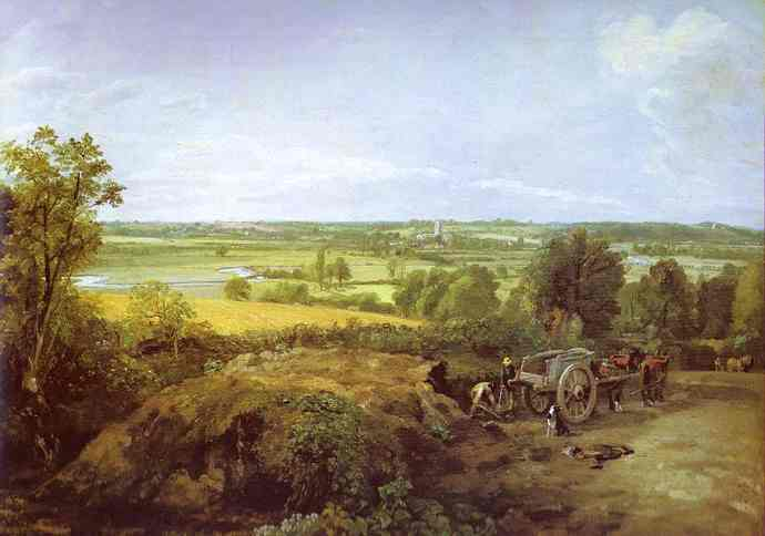 View Of Dedham 1814 | John Constable | Oil Painting