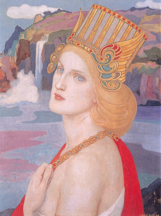 Aiofe | John Duncan | Oil Painting