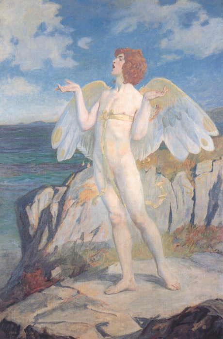 Angus Og 1908 | John Duncan | Oil Painting