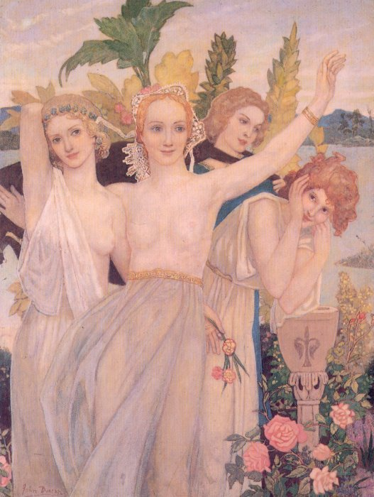 Happiness | John Duncan | Oil Painting