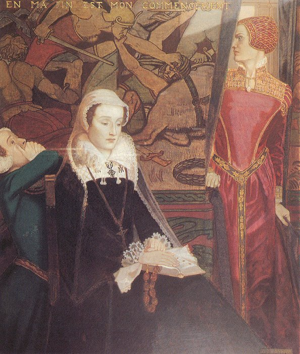 Mary Queen Of Scots At Fotheringhay 1929 | John Duncan | Oil Painting