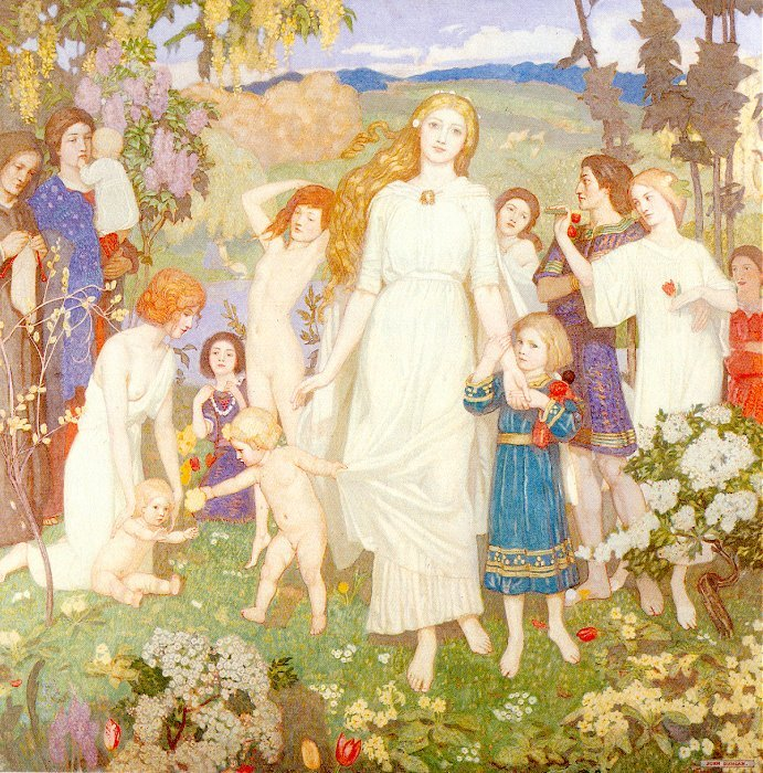The Coming Of Bride 1917 | John Duncan | Oil Painting