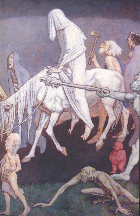 The Fomor (Detail) 1939 | John Duncan | Oil Painting