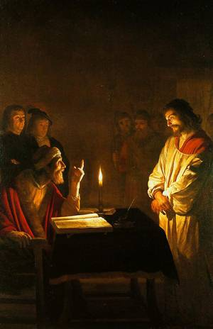 Christ Before The High Priest 1617 | Gerrit Van Honthorst | Oil Painting