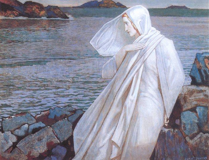 The Turn Of The Tide | John Duncan | Oil Painting