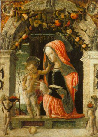 The Virgin And Child 1455-60 | Giorgio Schiavone | Oil Painting