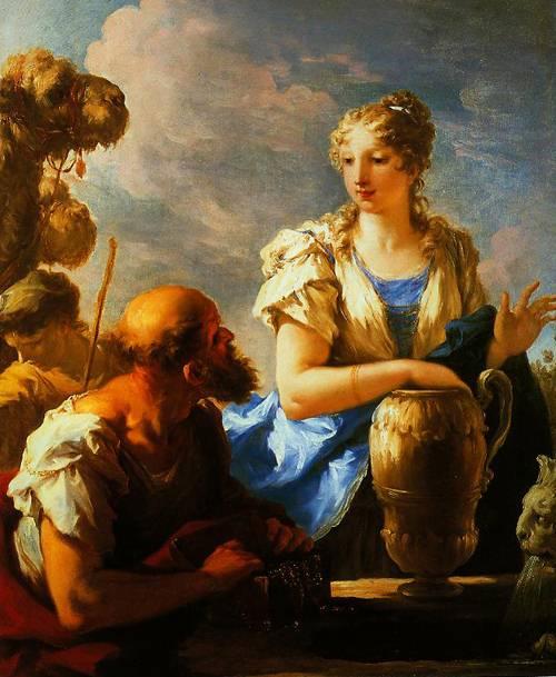 Rebecca At The Well 1708-1713 | Giovanni Antonio Pellegrini | Oil Painting