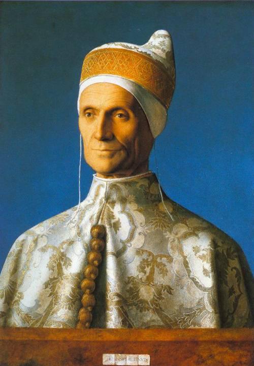 Portrait Of The Doge Leonardo Loredan 1502-03 | Giovanni Bellini | Oil Painting