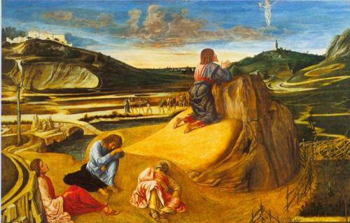 The Agony In The Garden 1465 | Giovanni Bellini | Oil Painting