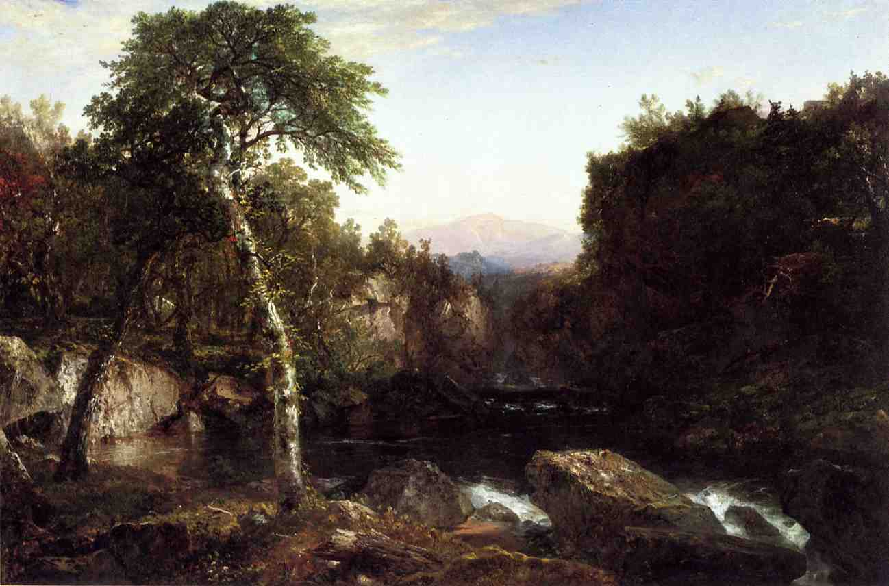 Adirondack Scenery 1854 | John Frederick Kensett | Oil Painting