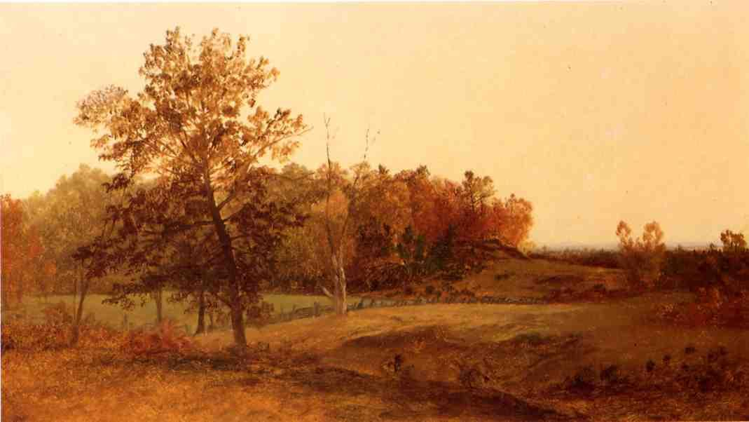 Autumn Landscape | John Frederick Kensett | Oil Painting
