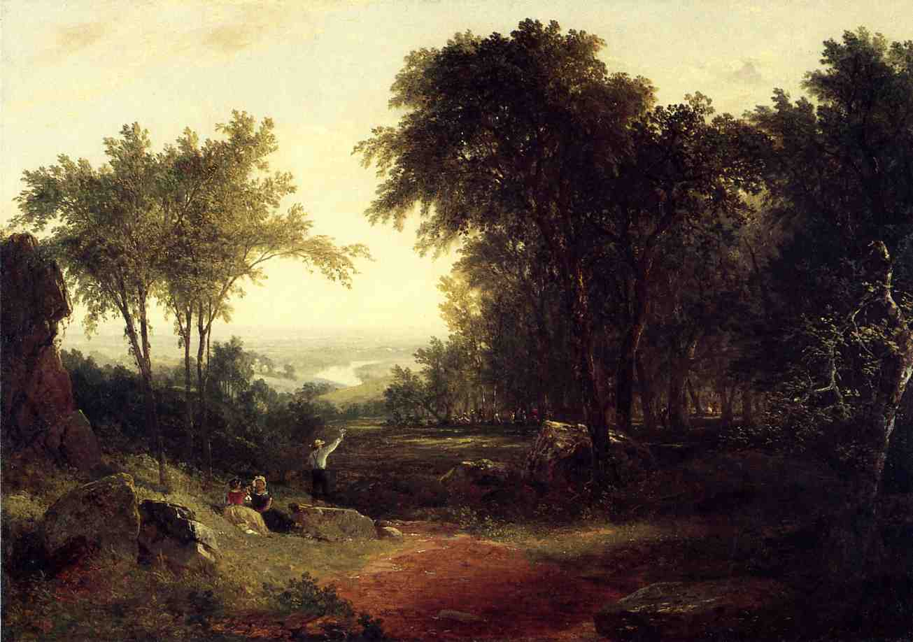 A Holiday in the Country 1851 | John Frederick Kensett | Oil Painting