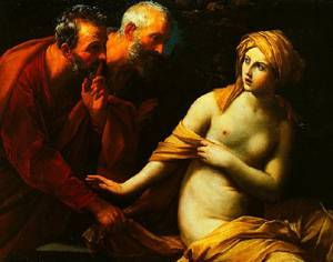 Susannah And-The Elders 1620-1625 | Guido Reni | Oil Painting