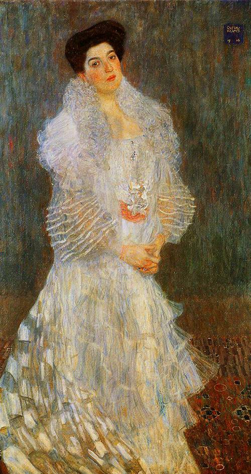 Portrait Of Hermine Gallia 1904 | Gustav Klimt | Oil Painting