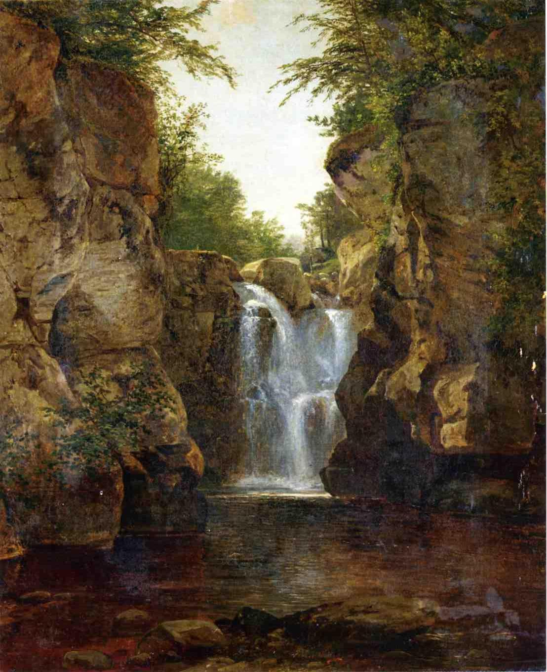 Bash Bish Falls 1855-1860 | John Frederick Kensett | Oil Painting