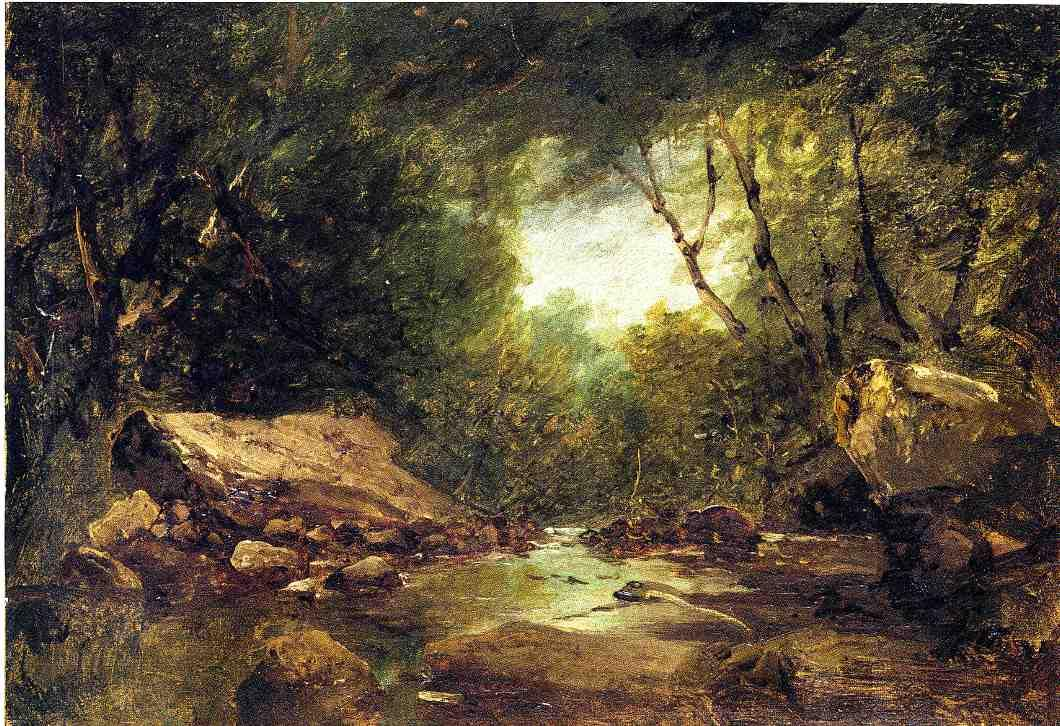 Brook in the Catskills | John Frederick Kensett | Oil Painting