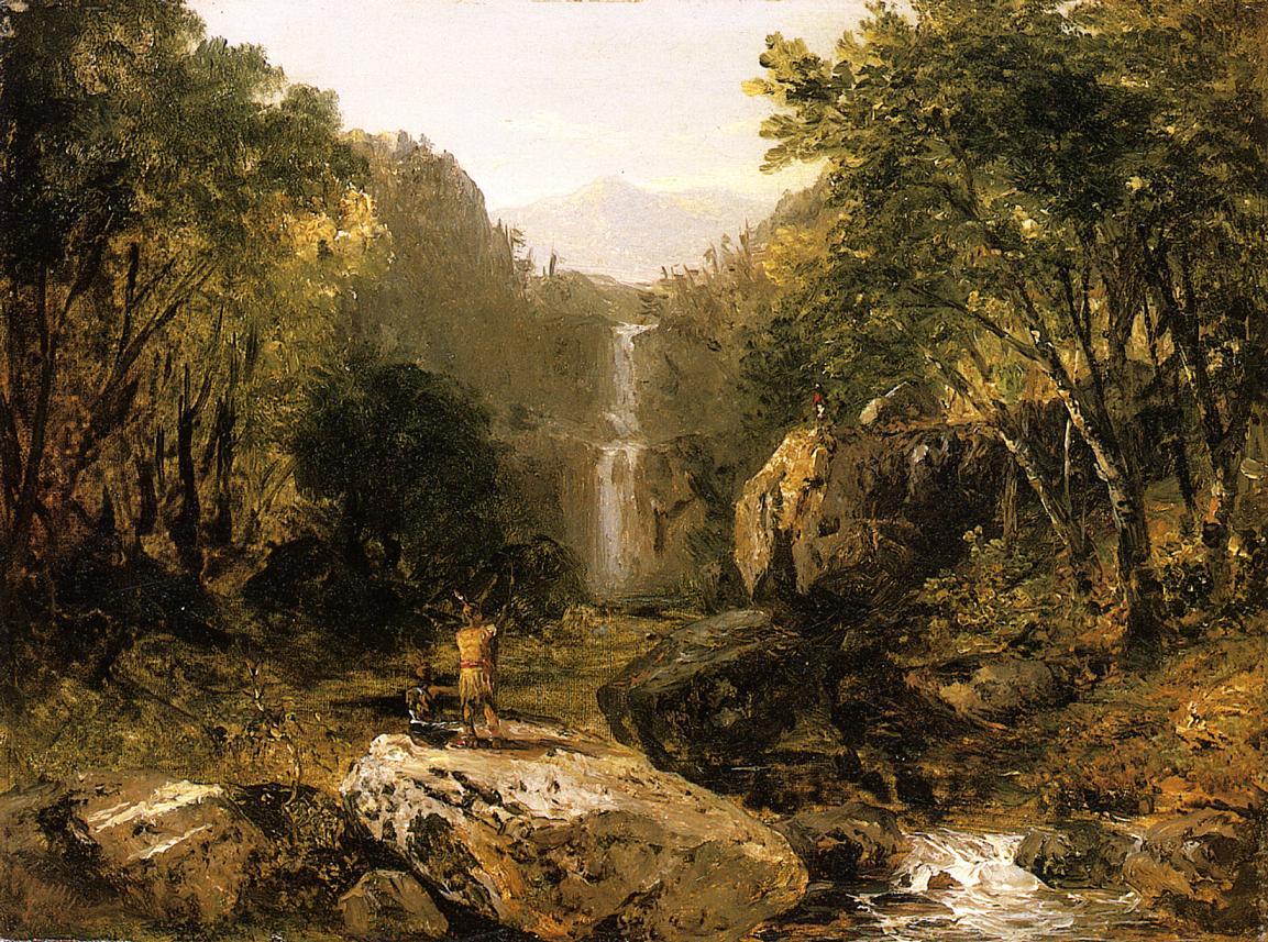 Catskill Mountain Scenery 1852 | John Frederick Kensett | Oil Painting