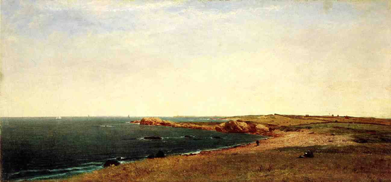 Coast at Newport 1869 | John Frederick Kensett | Oil Painting