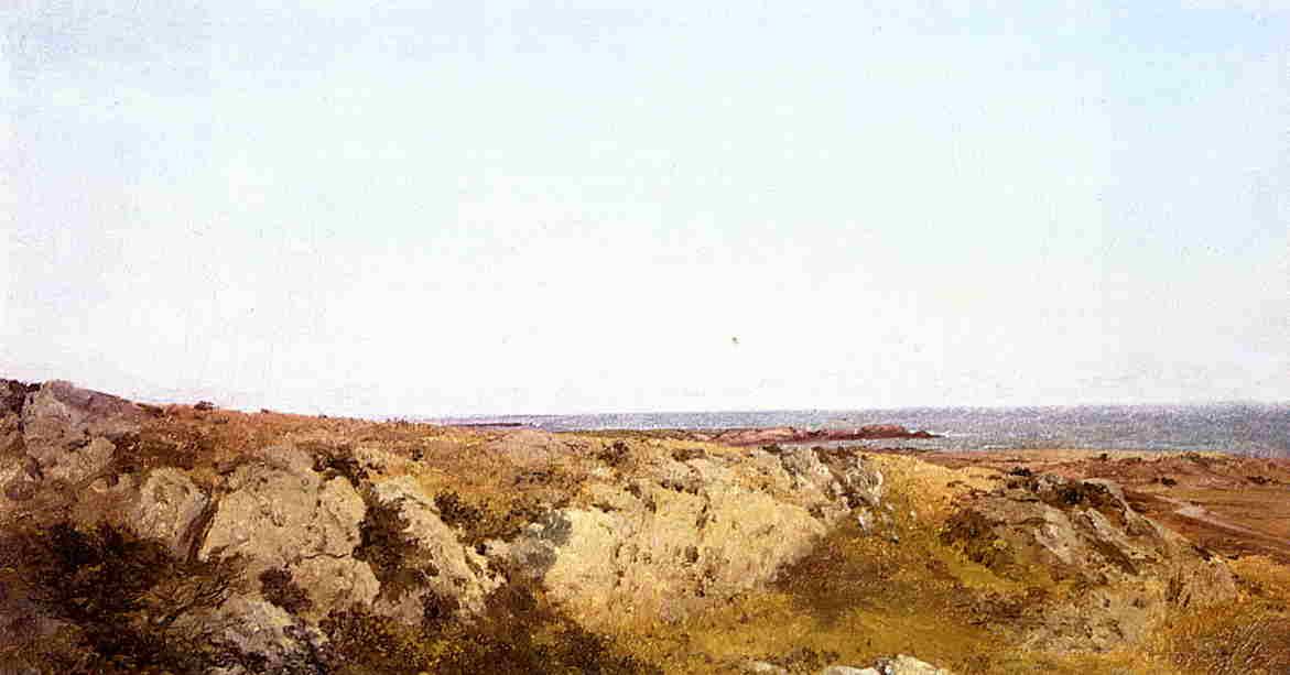 Coast Scene 1854 | John Frederick Kensett | Oil Painting