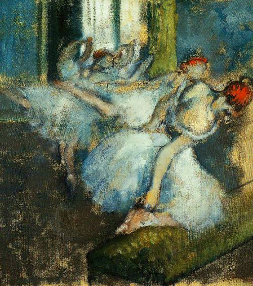 Ballet Dancers 1890-1900 | Hilaire-Germain-Edgar Degas | Oil Painting
